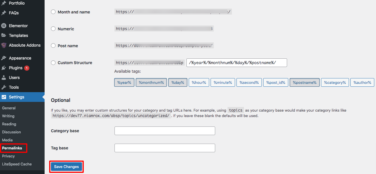WordPress failed to open stream error